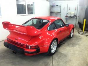 Porsche red Turbo-2