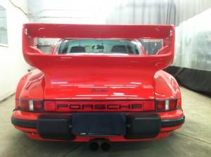 Porsche red Turbo