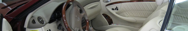 Mercedes Benz Leather Interior