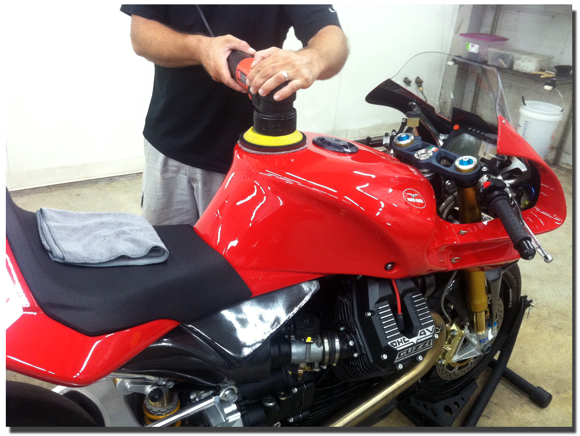 Motorcycle Detailing Seattle Showroom Quality Motorcycle